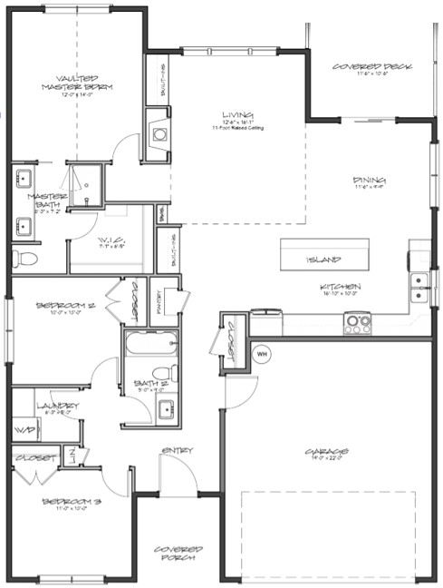 Chipshot Floorplan